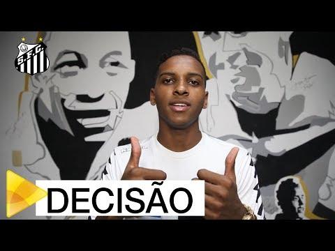 Rodrygo convoca torcida para decisão na Vila