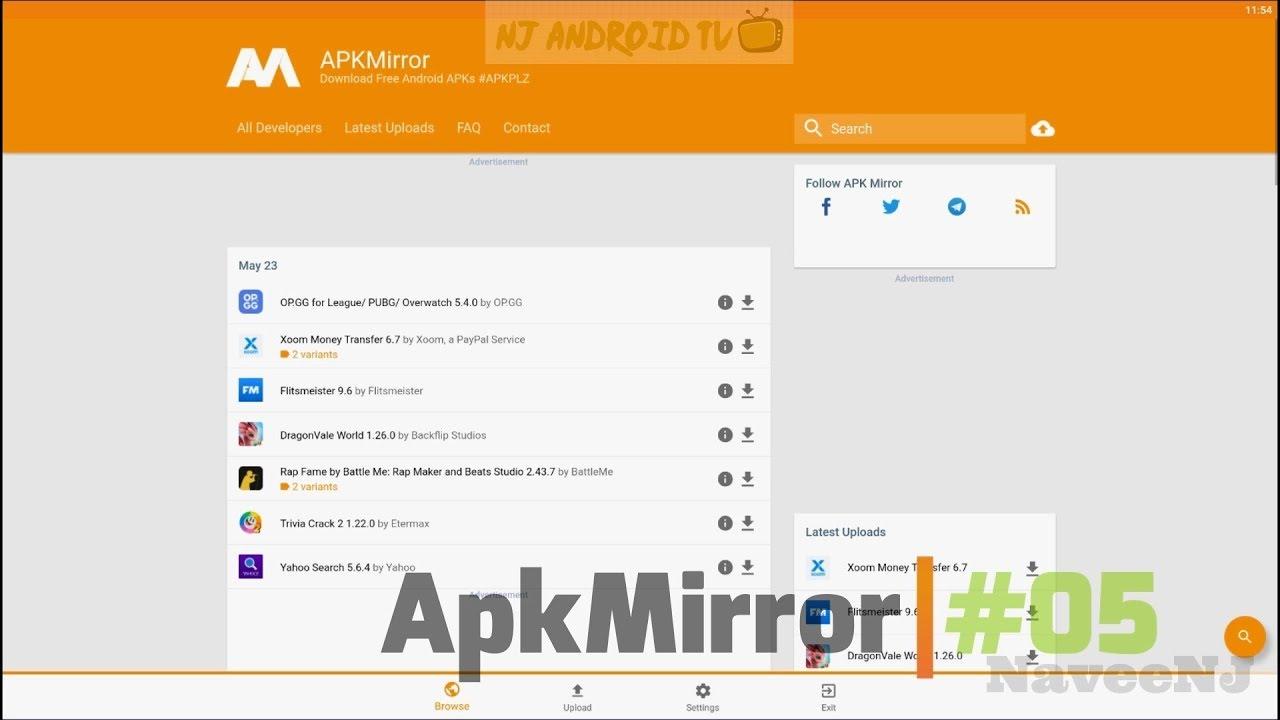 ApkMirror - Best Google Play Store Alternatives #05