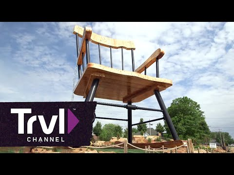 Visit the World's Largest Rocking Chair - Travel Channel