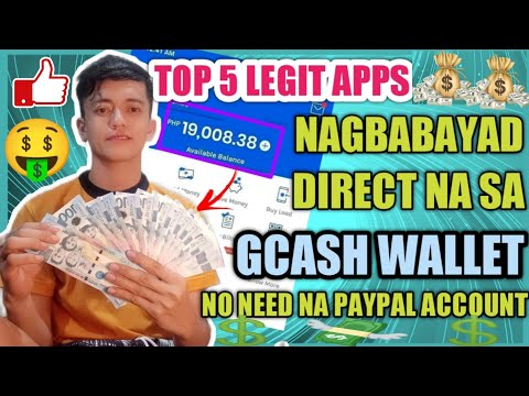 TOP 5 LEGIT EARNING APPS PHILIPPINES! PAYOUT DIRECT TO OUR GCASH WALLET   EARN MONEY FOR FREE