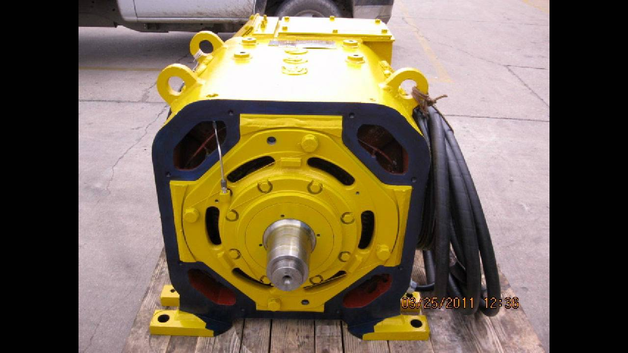 Traction motor repair youtube for What is traction motor