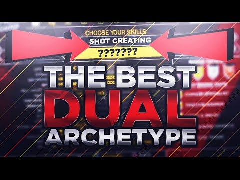 *MUST WATCH* THE BEST DUAL ARCHETYPE BUILD IN NBA 2K18