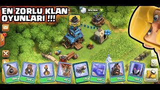 EN ZORLU KLAN OYUNLARI !!! | Clash Of Clans