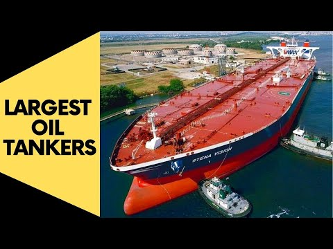 Largest Oil Tankers Ever Built!