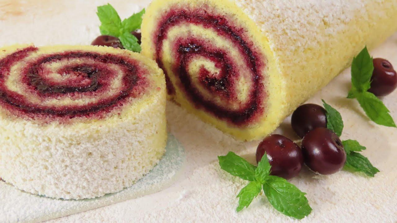 Brzinski Rolat s Pekmezom / Jam Roll Easy Recipe