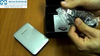 Unboxing Externi Wifi HDD 1TB F800