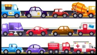 Kid's AWESOME Apps 1! Trucks & Machines Construction DEMO COMPILATION Build & Play & Learn for Kids