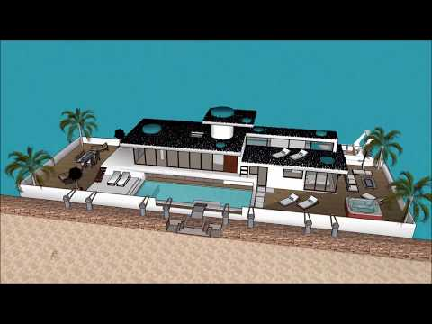 Houseboat 船屋 Guangzhou Macau Shenzhen CHINA floating Luxury Home on the waterfront of the Marina of