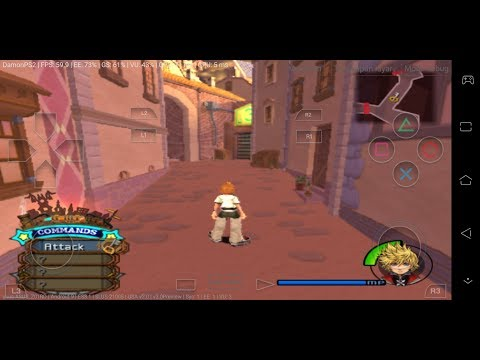 DamonPS2 Pro V3.0 Android - Kingdom Hearts 2 60 FPS Fixed Gloming Character