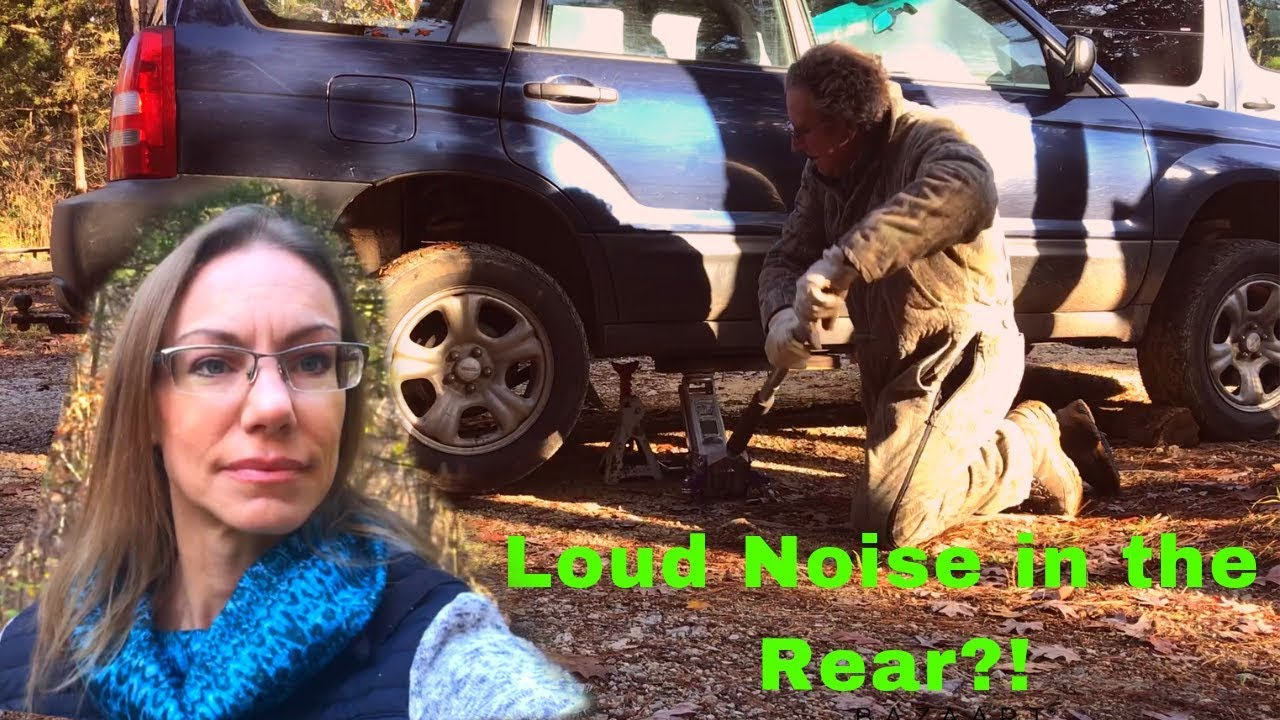 Noise in the Rear? Replacing Rear Wheel Bearing -Subaru Forester 05