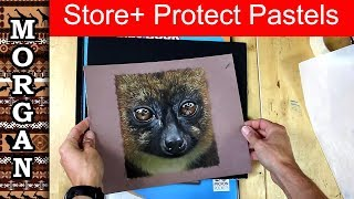 How Store And Protect Pastel Drawings And Paintings Jason Morgan Wildlife Art