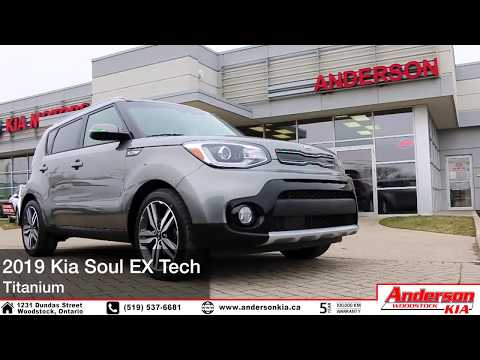 NEW &#; Kia Soul EX Tech&#; Features - Woodstock