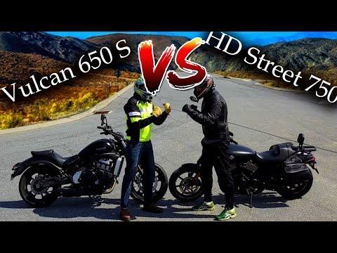 Vulcan 650s VS Harley Street 750