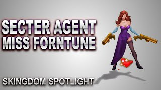 Secret Agent Miss Fortune Skin Spotlight | SKingdom - League of Legends