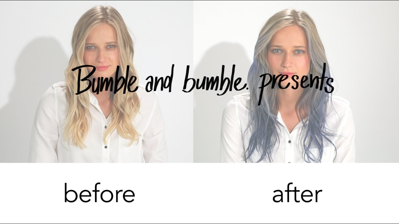 How To Get Neo Ombre Hair Using Bumble And Bumble Bb Color Sticks