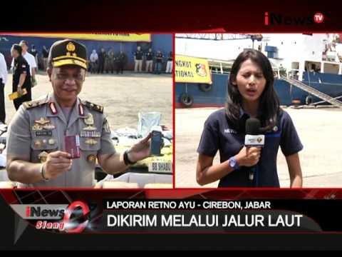 Live report : terkait pemusnahan narkoba di Cirebon - iNews Siang 06/04