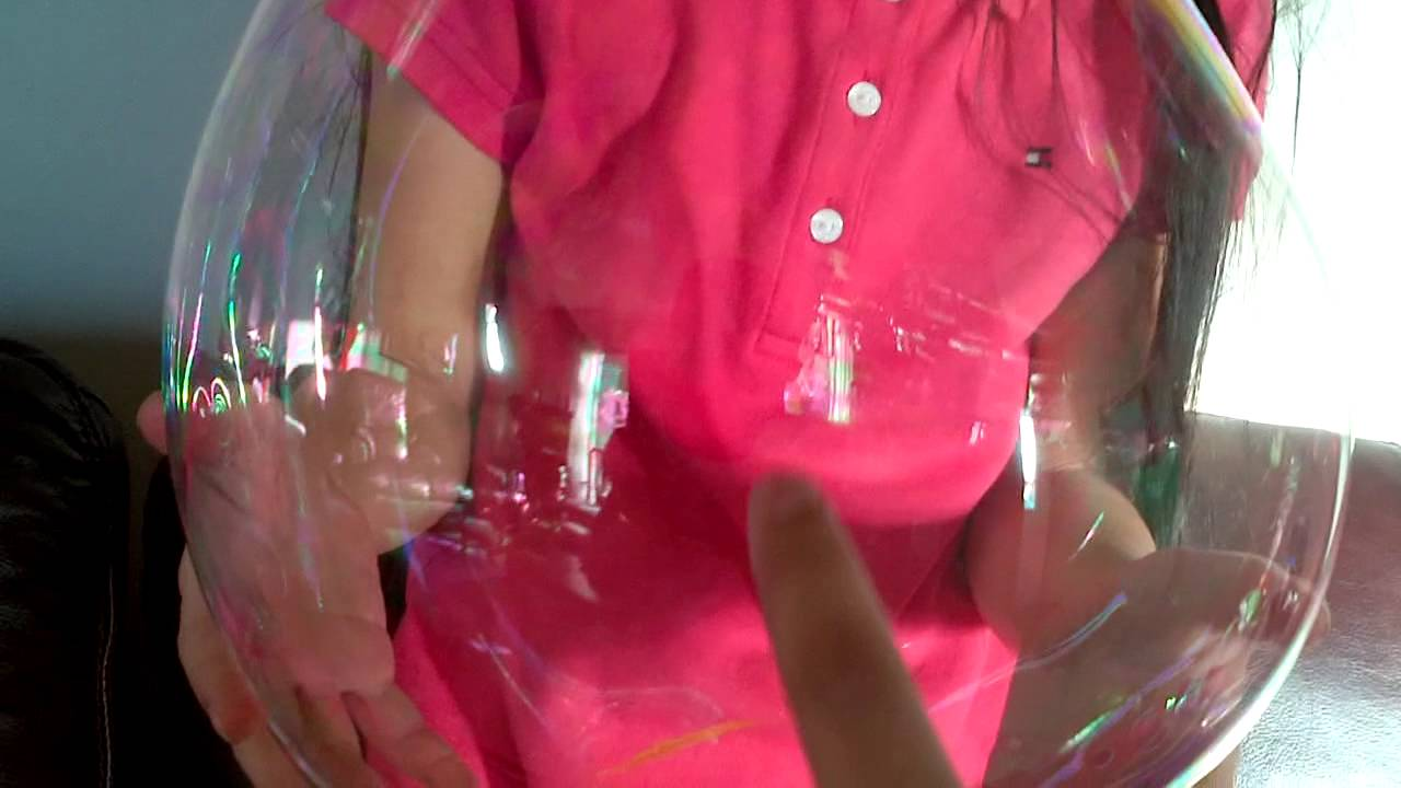 Watch How to Make Unpoppable Bubbles video