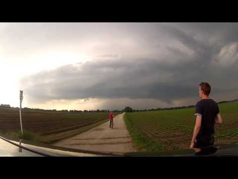 27.05.2016 - Supercell Hailstorm Southern Germany