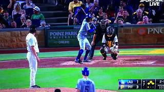 Curtis Granderson Crushes Grand Slam Dodgers Vs Pirates