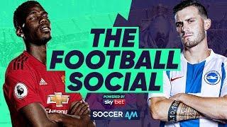 Manchester United 2-1 Brighton | Solskjaer Wins 7th Match #TheFootballSocial