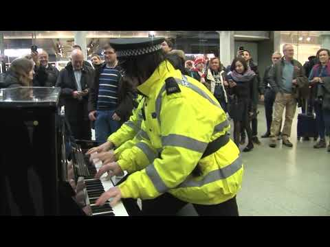 THE ROCK AND ROLL PIANO POLICE  ('No Filming Allowed' Ending)