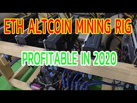 ETH Ethereum Altcoin Mining Rig 2020 Profitable | Zakria ZU |