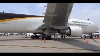 United Parcel Service - UPS Boeing 767-300 WL (N353UP) Walk Around - Rockford Airfest 2014