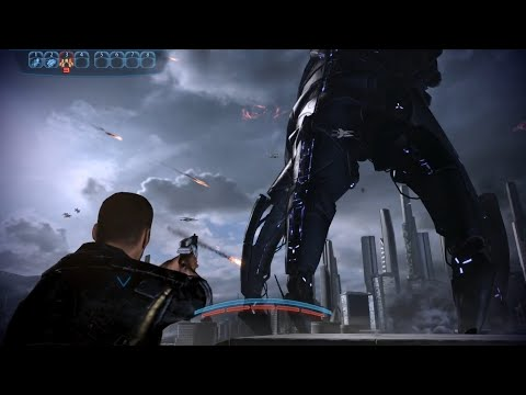 Mass Effect 3 - The Fall Of Earth (Full Intro)
