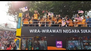 Lee Chong Wei & Malaysia Rio olympic athletes  @ Merdeka Day Parade 2016