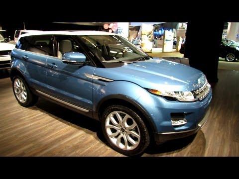 2013 Range Rover Evoque - Exterior and Interior Walkaround - 2013 Montreal Auto Show