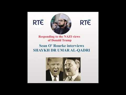 Shaykh Umar Al-Qadri on RTE responding to Donald Trump