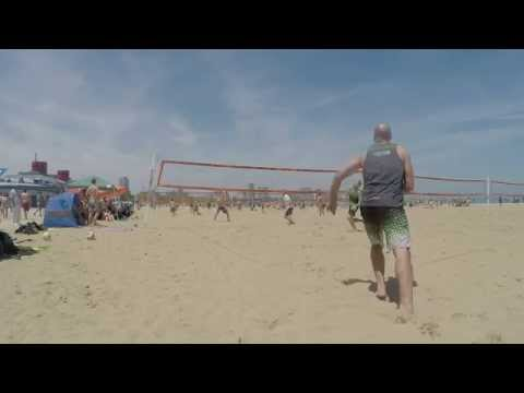 Earnest/Templeton vs. Gusto/McDermand, Players Sports Group Beach Series Quarter-finals