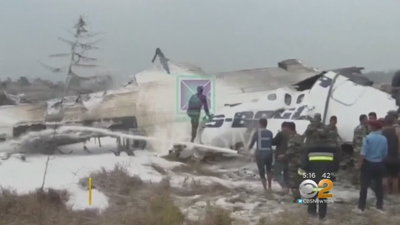49 Believed Dead In Nepal Plane Crash