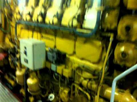 cat 3606 dutch inland vessel