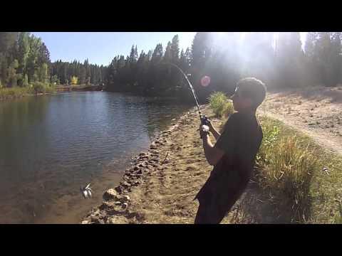 White Pines lake fishing 10-12-13