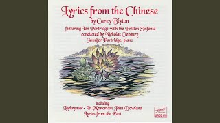 Carey Blyton Lyrics From The Chinese, Op. 16: Interlude for Solo String Quartet