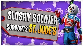 Fortnite - Slushy Soldier supports St. Jude\'s! -ft. BasicallyIDoWrk, Wildcat, Nogla | DrLupo