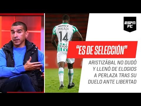 """Víctor Aristizábal, CONTUNDENTE: """"Baldomero #Perlaza es jugador para Selección"""""""