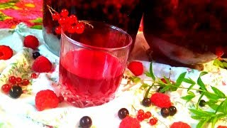 Домашний ликер из вишни и малины .Как сделать вкусный ликер в домашних условиях