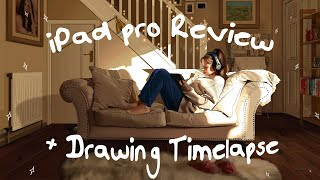 Painting with the iPad and Procreate - Review & Drawing Time lapse