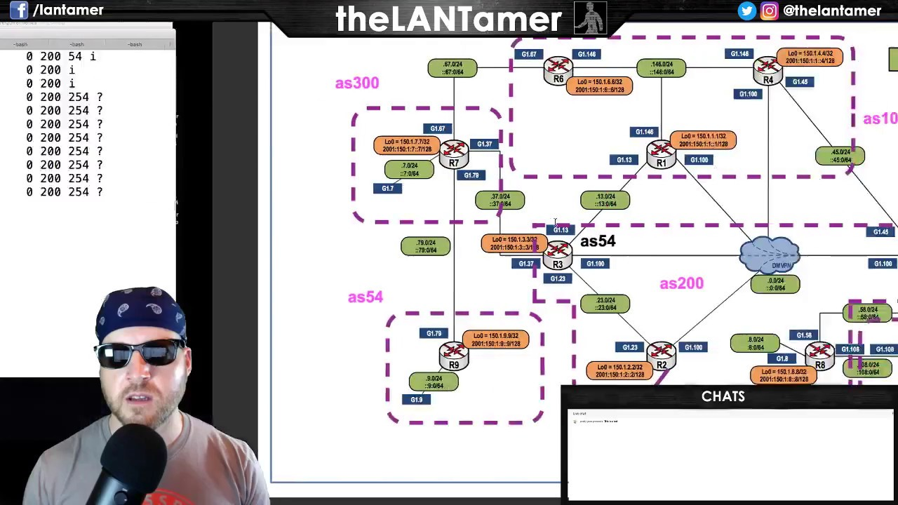 day 97 - BGP attribs: MED, and always-compare MED