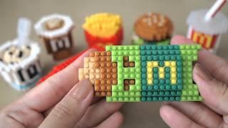 麥當勞 McDonald's McCafe Food Icons X nanoblock Sets | マクドナルド ナノブロック | 맥도날드 나노블럭