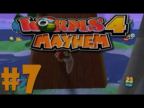 Let´s Play Worms 4 Ultimate Mayhem - #7 - Ins aus geschlagen [German] [HD]