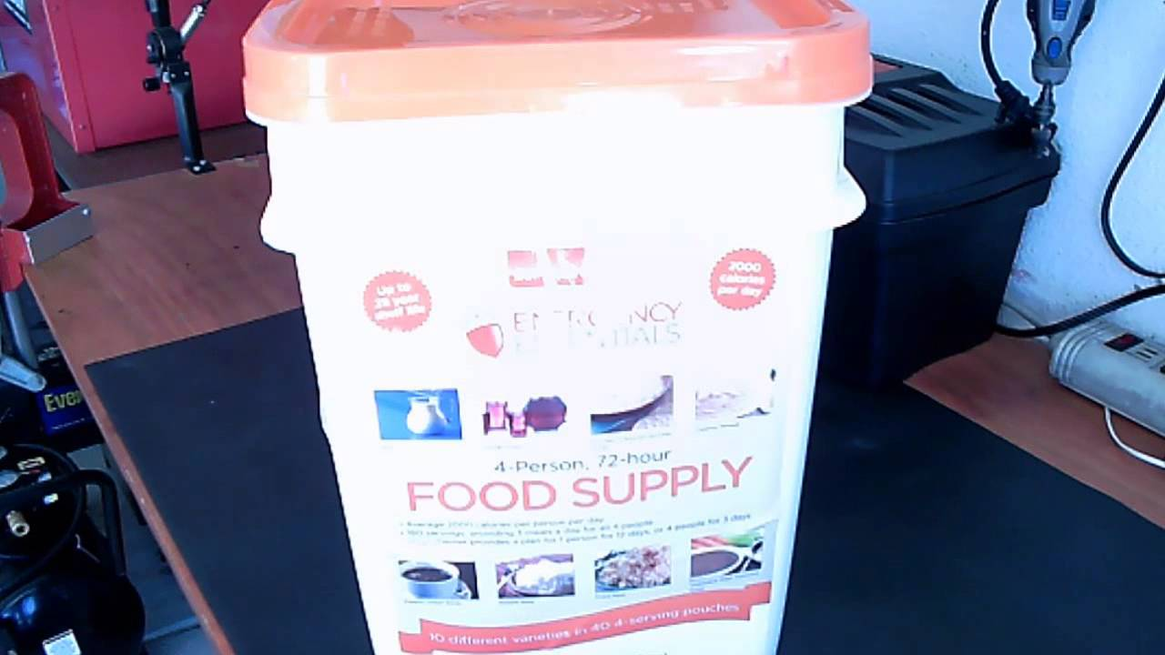 4-Person 72-hour Food Supply At Krogers and Smith\'s Grocery Store ...