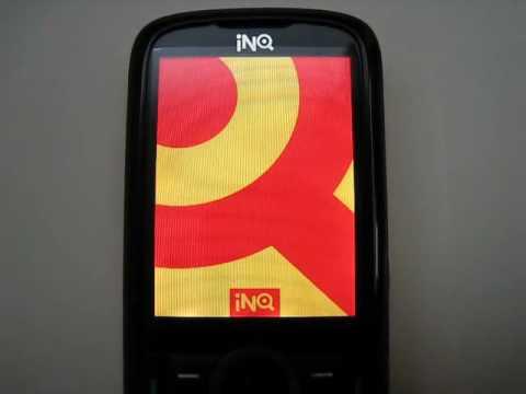 INQ Mini 3G Start Up/Shut Down Screen