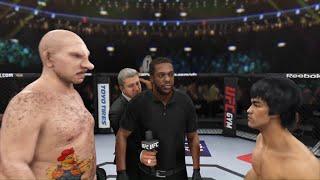 Pig - Man vs. Bruce Lee (EA sports UFC 3) - CPU vs. CPU