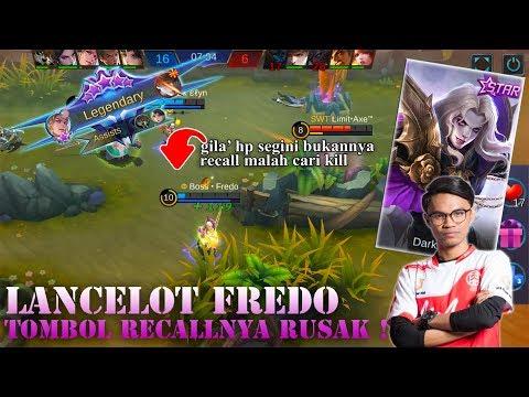 Lancelot Fredo Tombol Recallnya Rusak ! ( Build & Gameplay By Fredo ) - Mobile Legends
