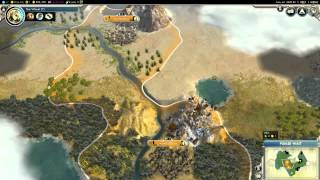 Let's Play Civilization V: Gods and Kings -- Part. 1