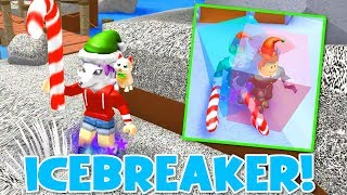 Lets Play Roblox CHRISTMAS ICEBREAKER - RadioJH Games