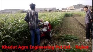 reaper binder of khedut agro engineering pvt ltd rajkot gujarat india